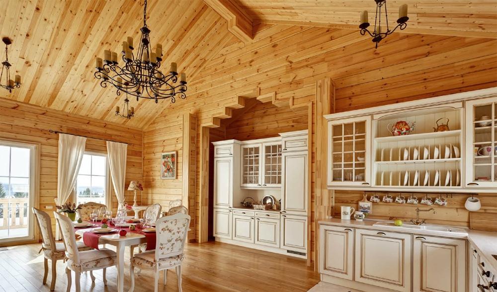Отделка и дизайн внутри дома
