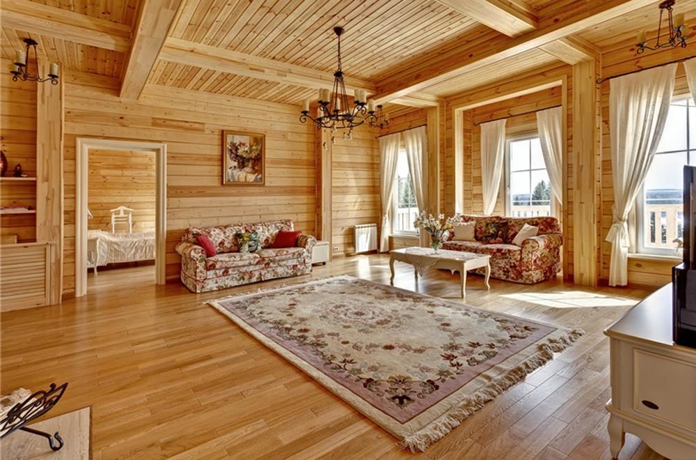 Деревянный дизайн интерьеров