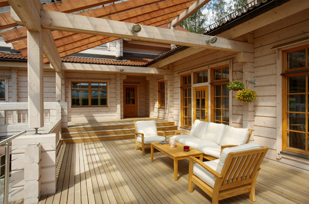 Дом из клееного бруса дизайн интерьера