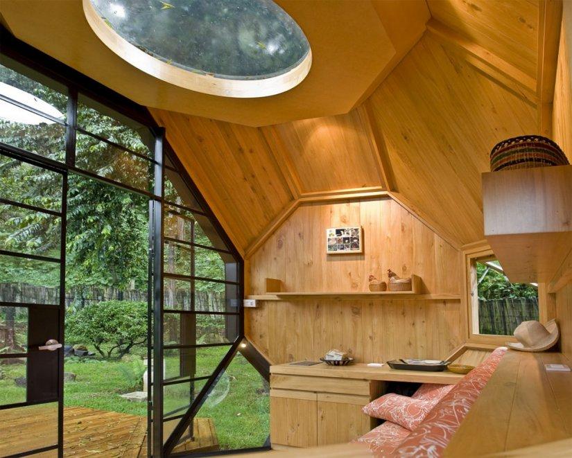Интерьер дачного дома фото