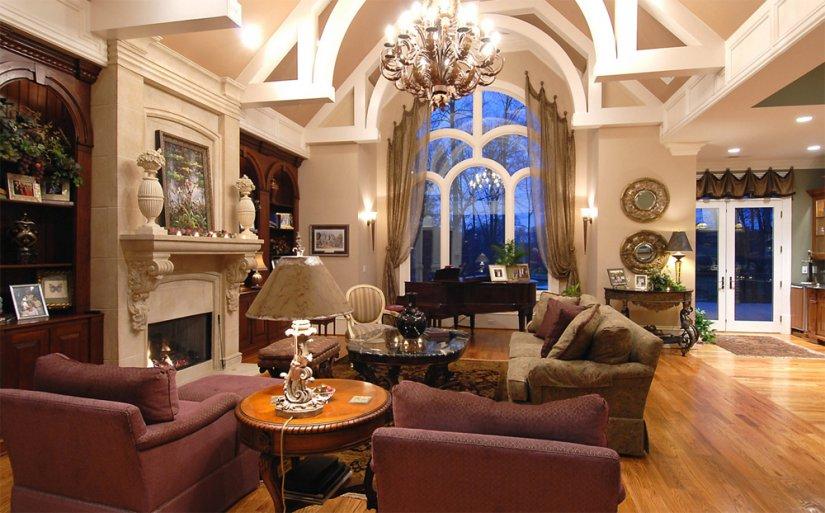 Интерьер частного дома фото внутри