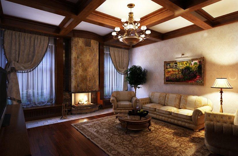 интересный дизайн в доме