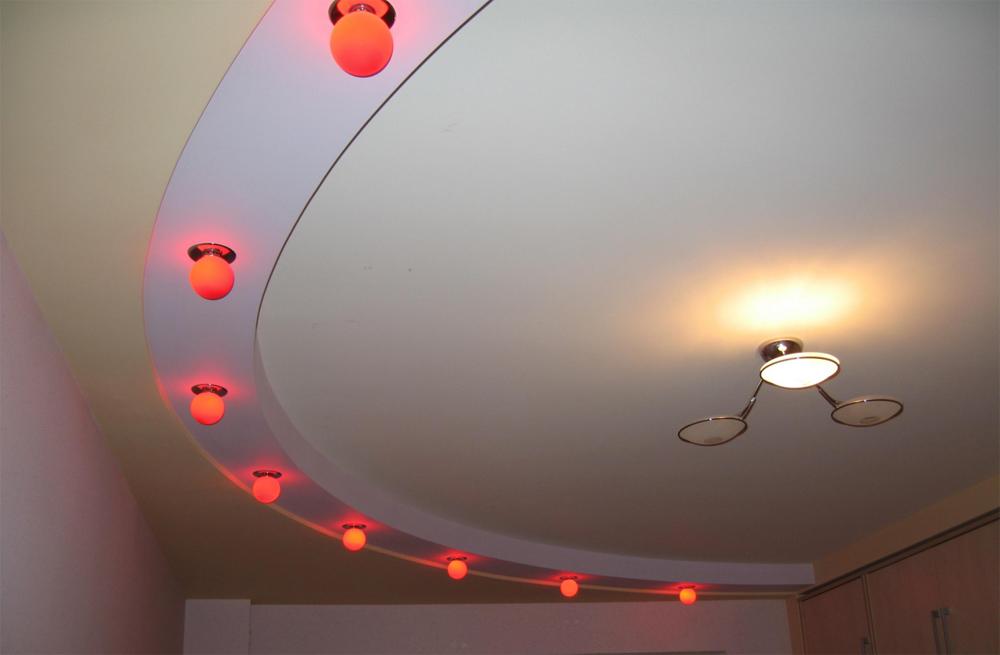 Потолок полукруглый из гипсокартона своими руками