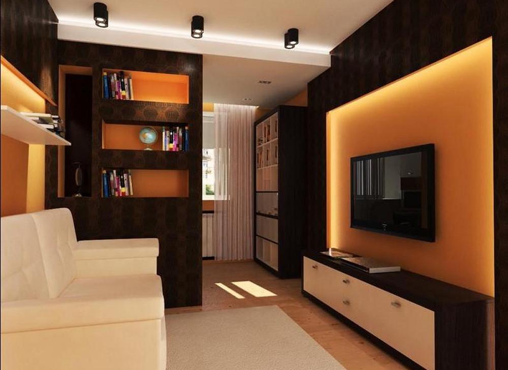 Фото дизайна комнаты 12 квм