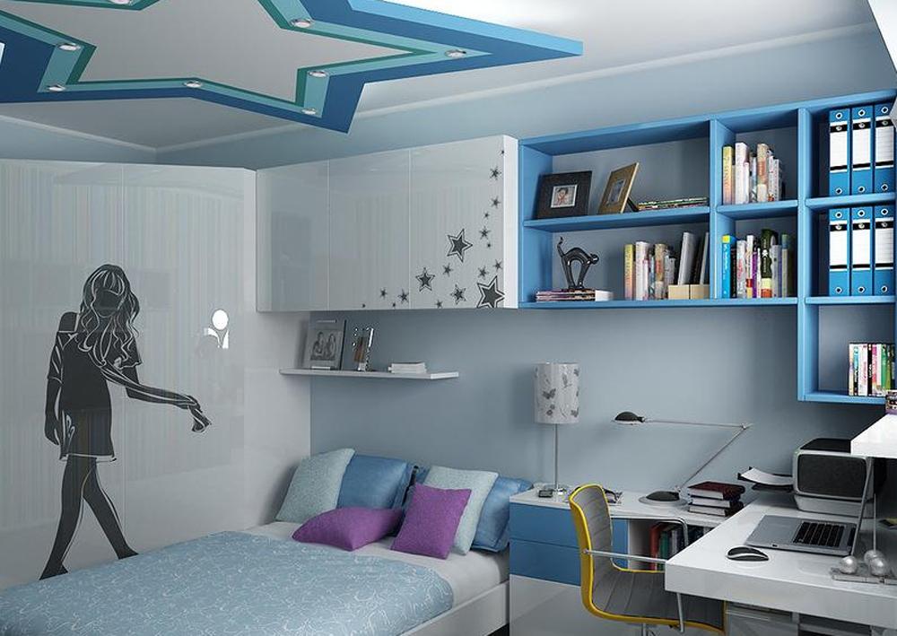 Интерьер для комнаты подростка девочки подростка фото