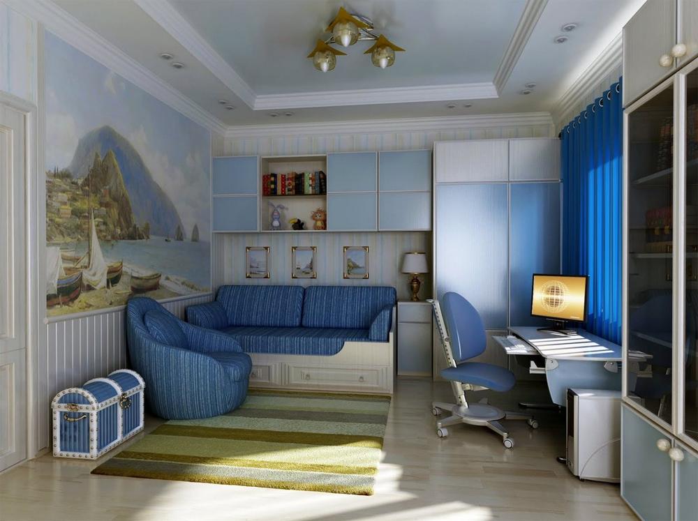 Дизайн для детской комнаты фото