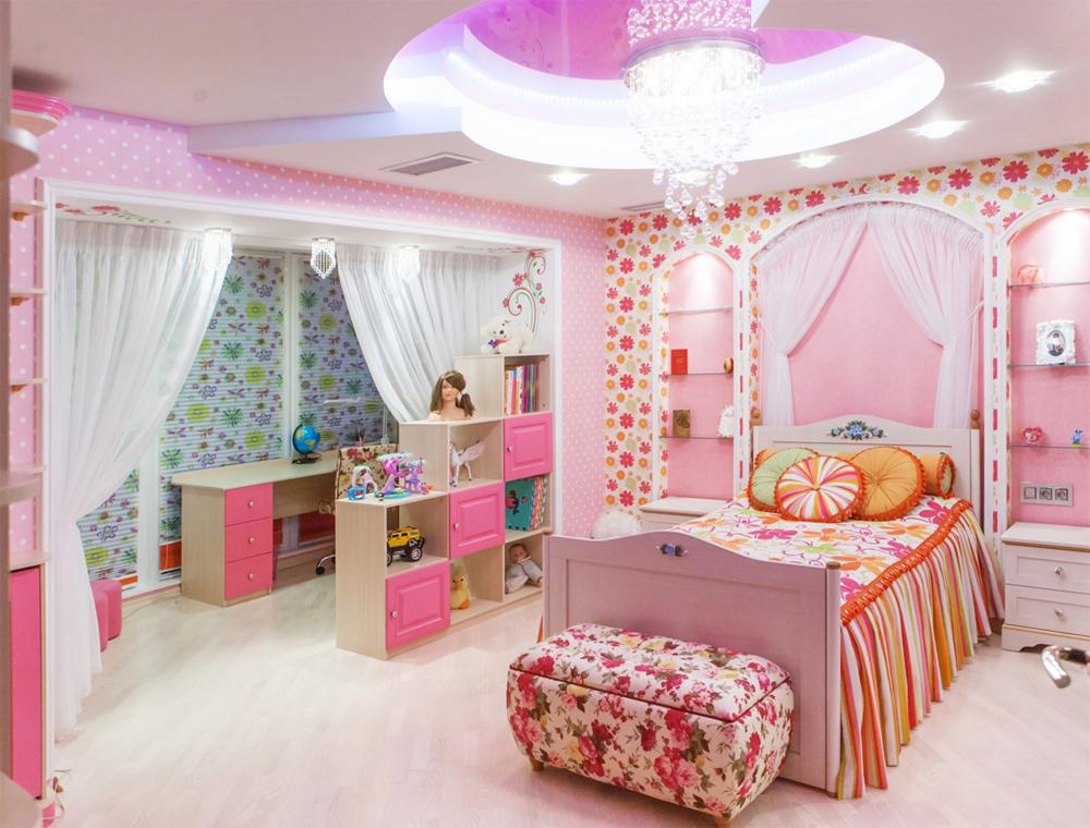 фото интерьер детских комнат для девочек