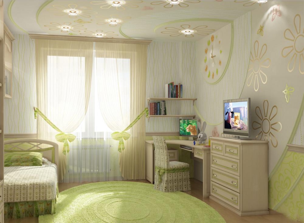 Интерьер детской в квартире фото