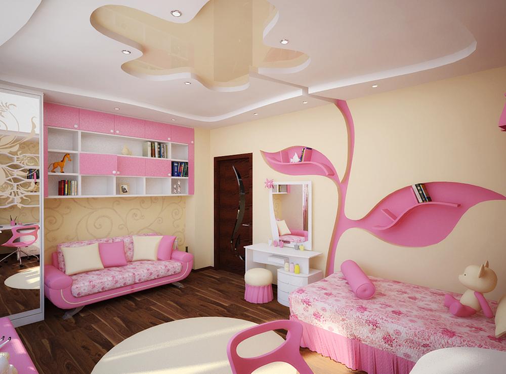 Детская комната для девочки 8 лет дизайн