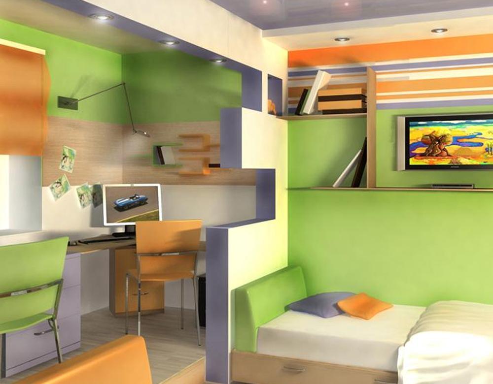Дизайн детской комнаты для подростка мальчика 12 кв.м