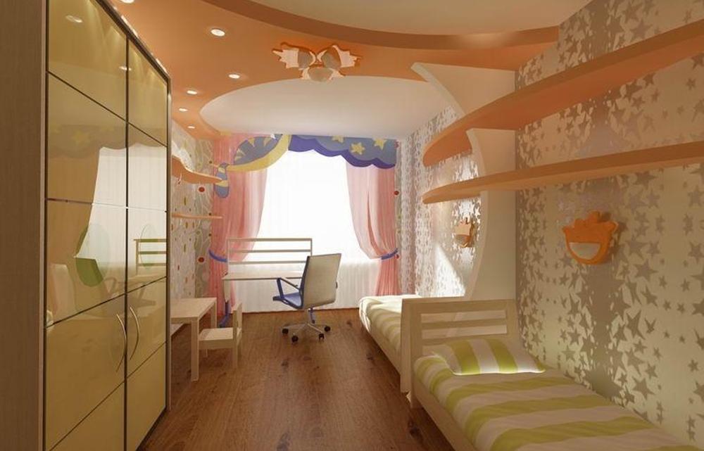 Детская комната 12 кв. м интерьер (22 фото), дизайн комнаты .