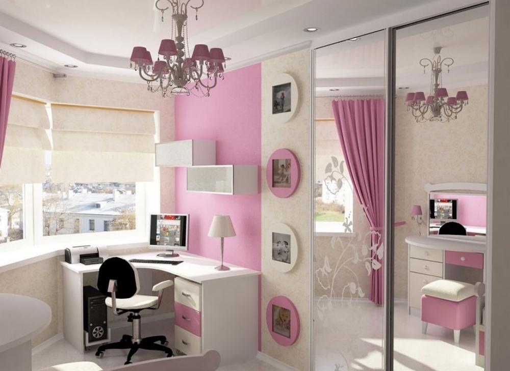 Дизайн комнаты девочки подростка 12 м