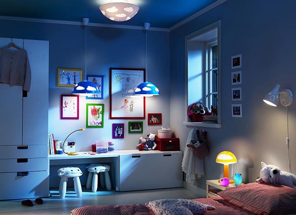 Детские комнаты дизайн икеа
