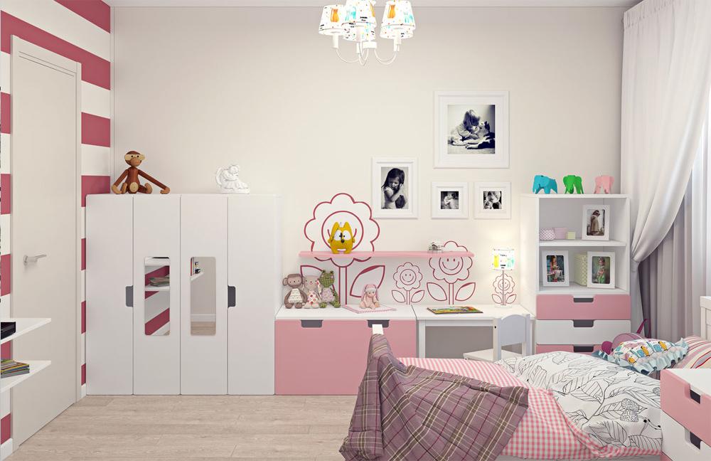 Мебель икеа для детской в интерьере фото