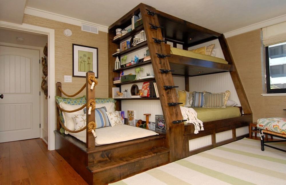 Оригинальный дизайн комнаты фото