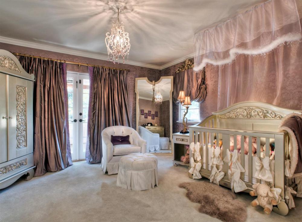 Комната для новорожденной девочки дизайн