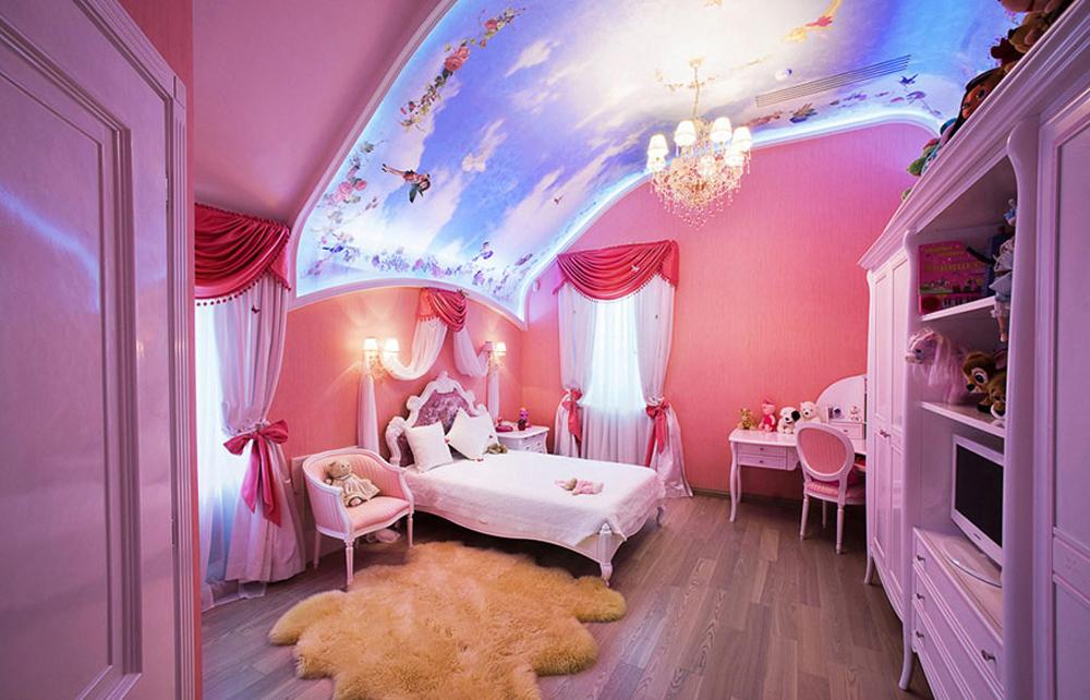 Дизайн красивейших детских комнат фото