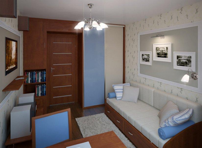Детская комната превращается в место для учебы и развития школьника