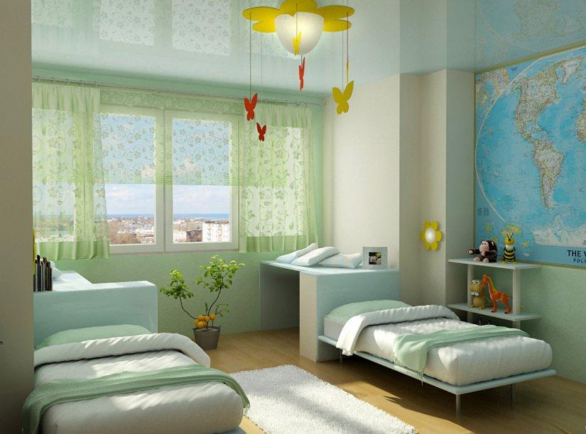 Детская комната 12 кв. м интерьер фото
