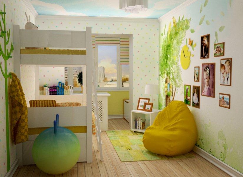 Детская комната для двух мальчика дизайн фото