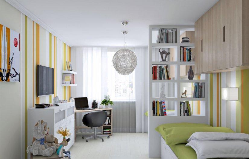 Интерьер детской комнаты IKEA