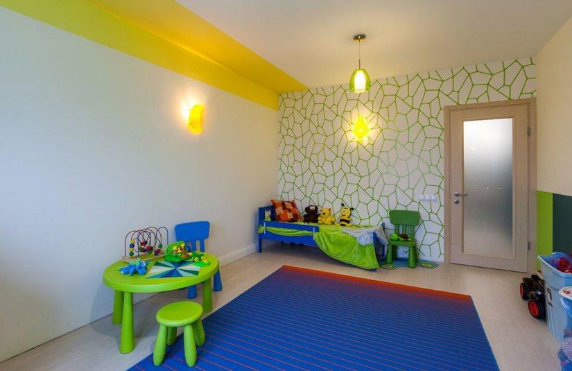 Интерьер детской комнаты Икеа фото