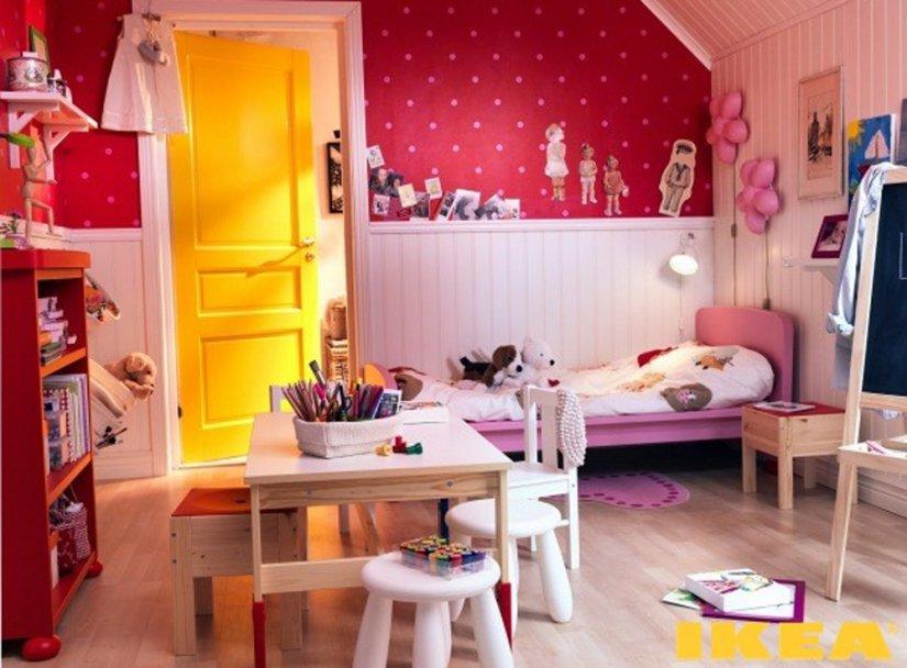 детская комната ИКЕА для девочки