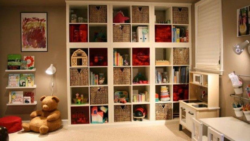 шкаф ИКЕА для детской комнаты