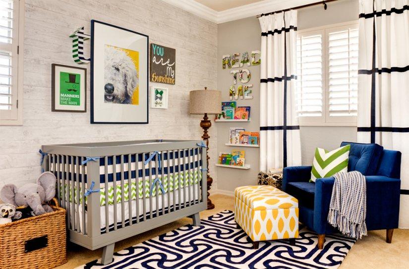 Детская комната интерьер фото для новорожденных