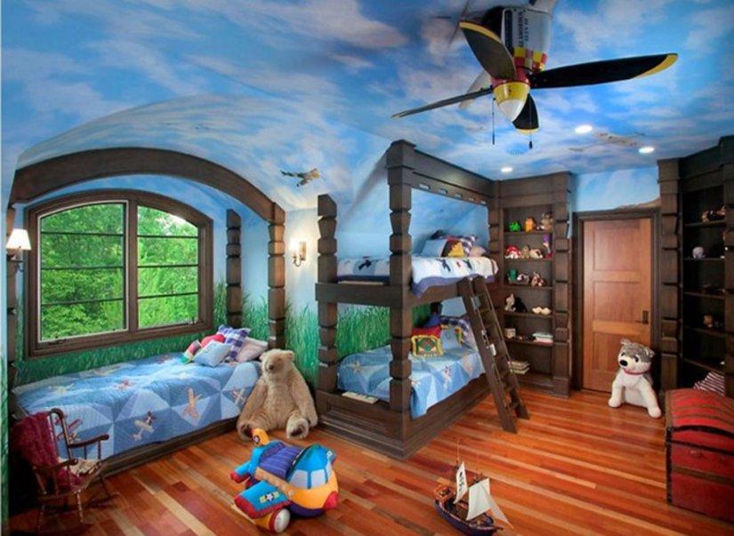 Красивый дизайн детских комнат