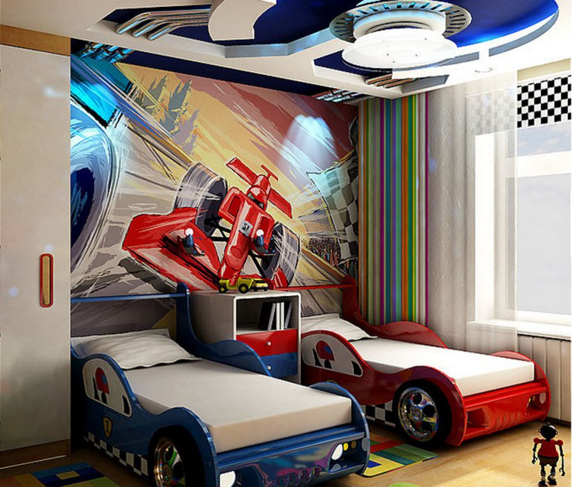 Комната для 2 мальчиков фото