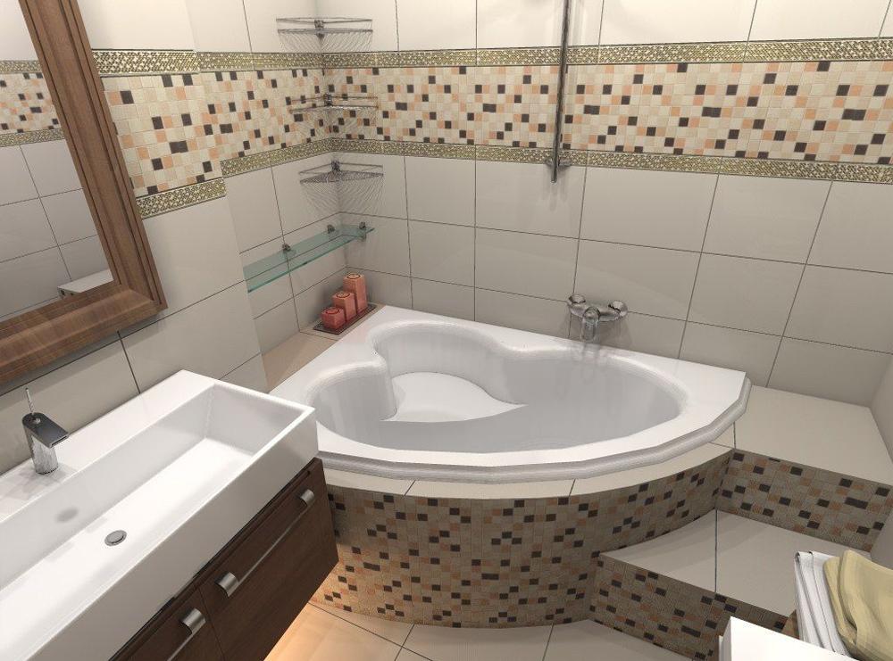 Ремонт маленькой ванной комнаты своими руками фото 361