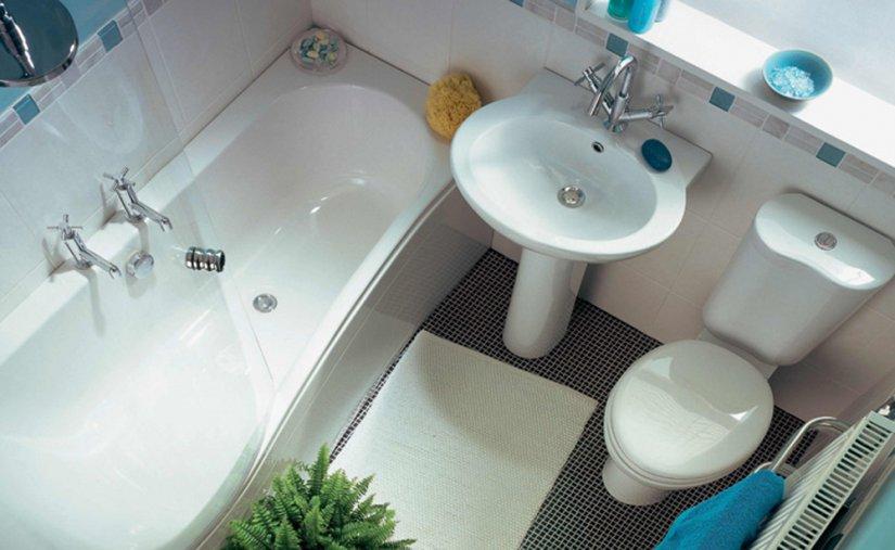 вид с верху ванной комнаты