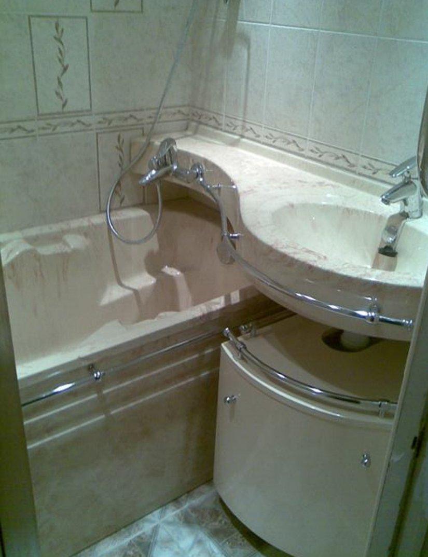 ванная в хрущевку фото