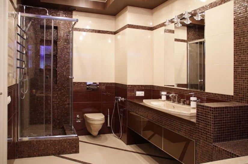 Дизайн ванной совмещенной с туалетом в хрущевке