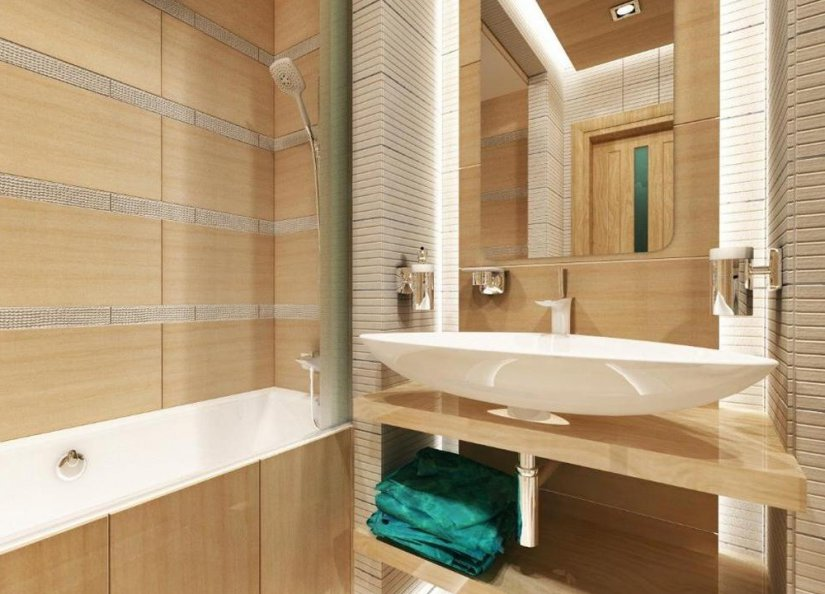 ванная обложенная плитка фото