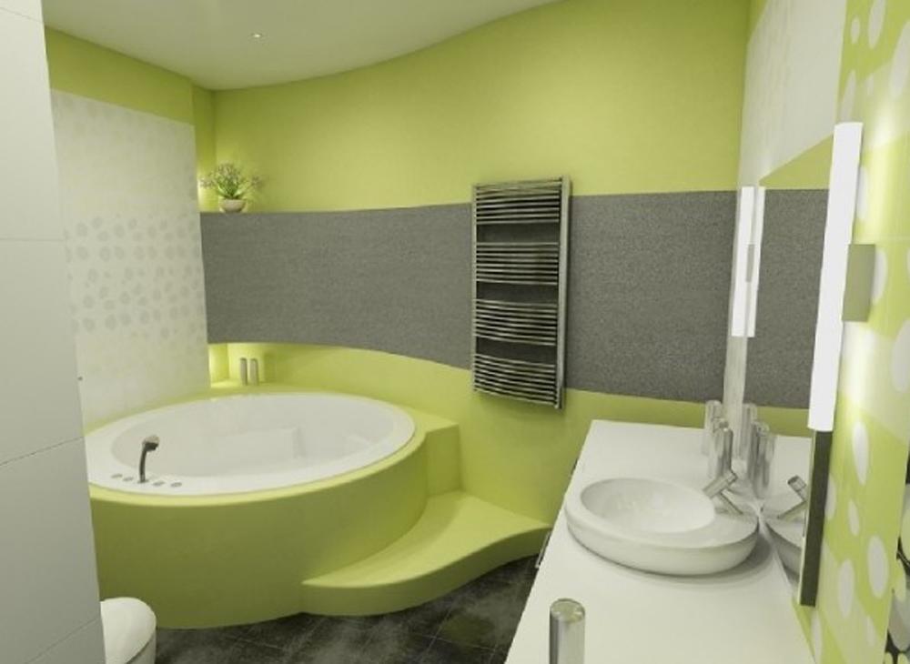 Покраска ванных комнат фото