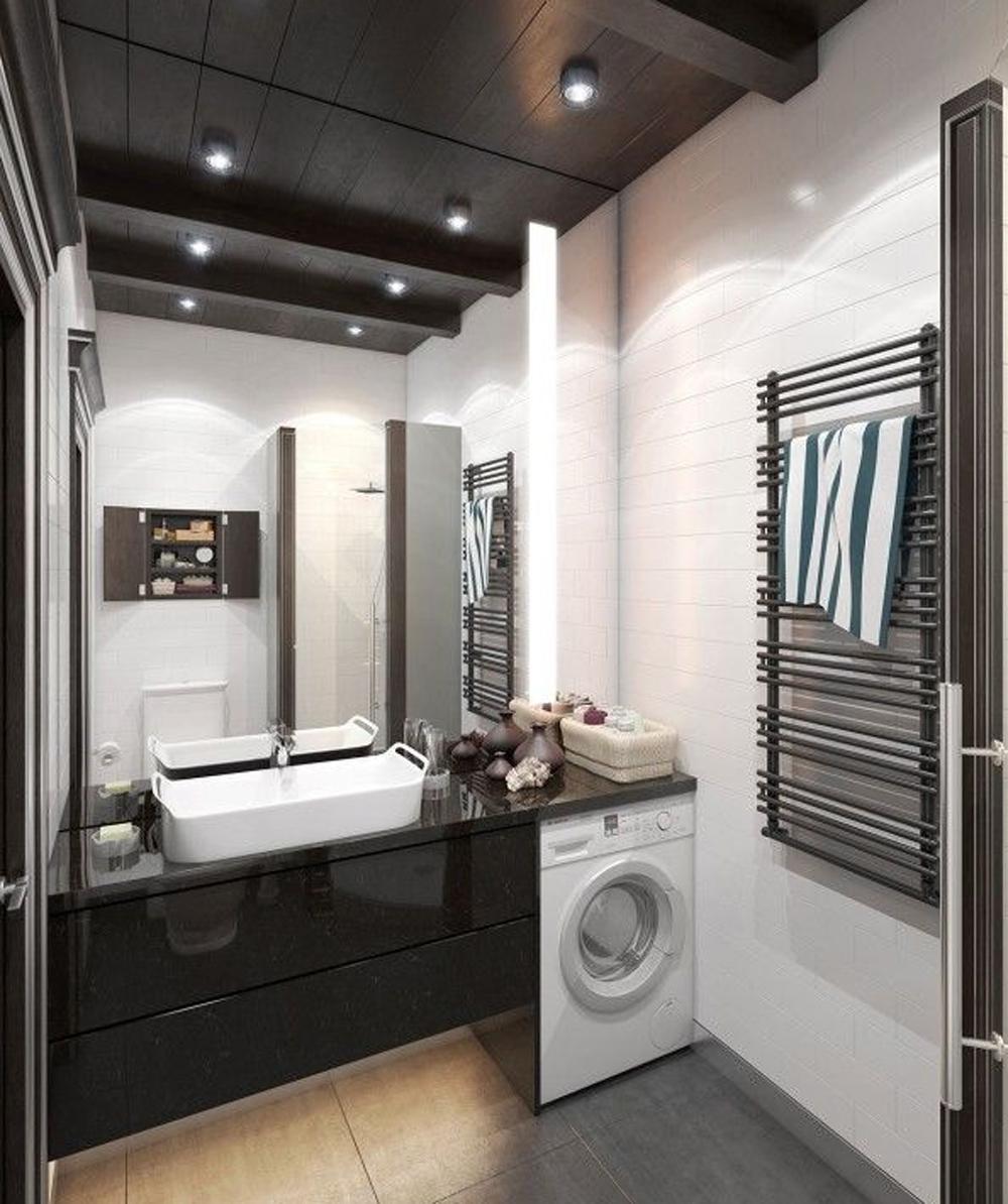 Дизайн ванной комнаты фото 2.5 кв м без туалета