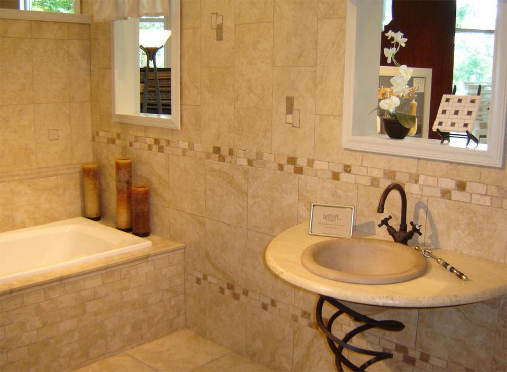 Дизайн ванная комната кафель