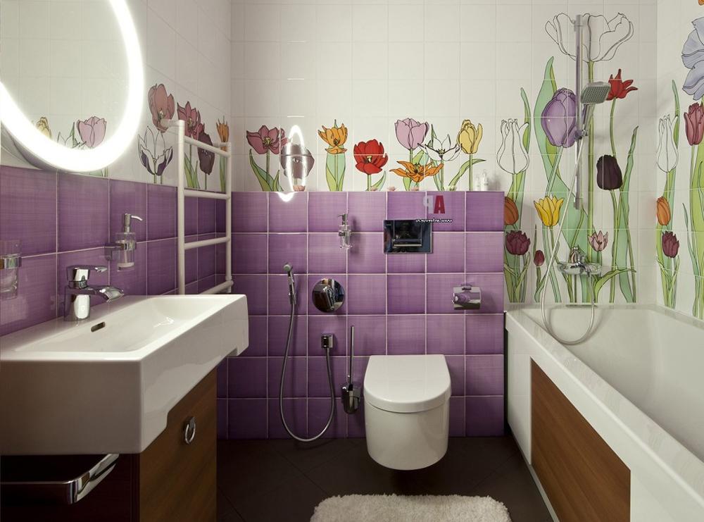 Декор маленькой ванной фото