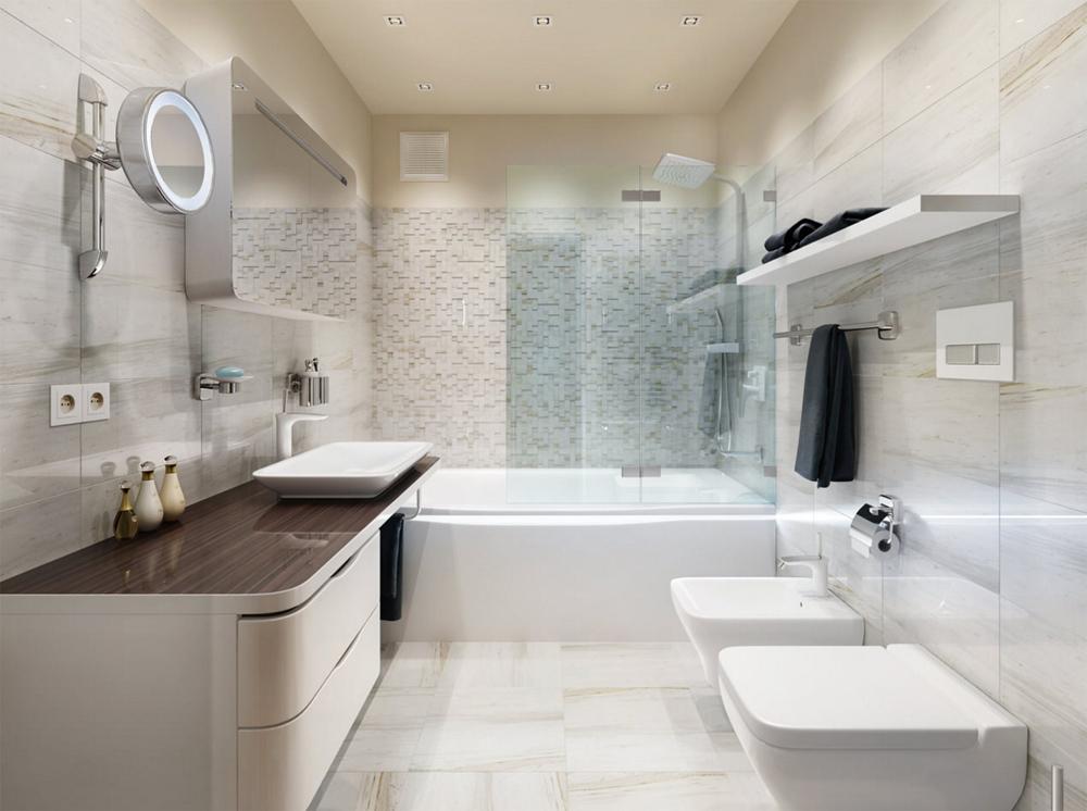 Дизайн ванной комнаты основы основ