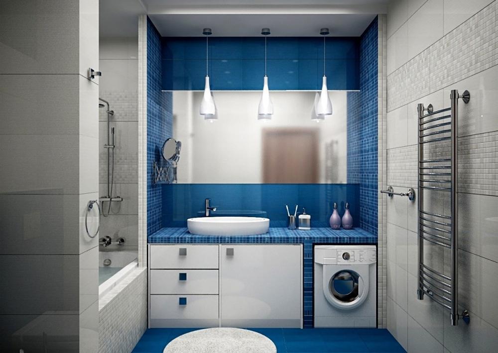 Дизайн ванной 6 кв м
