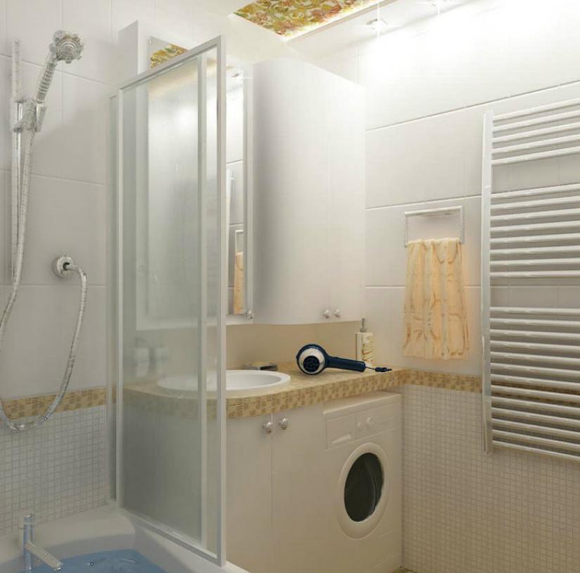 Дизайн ванной комнаты фото 2 кв м