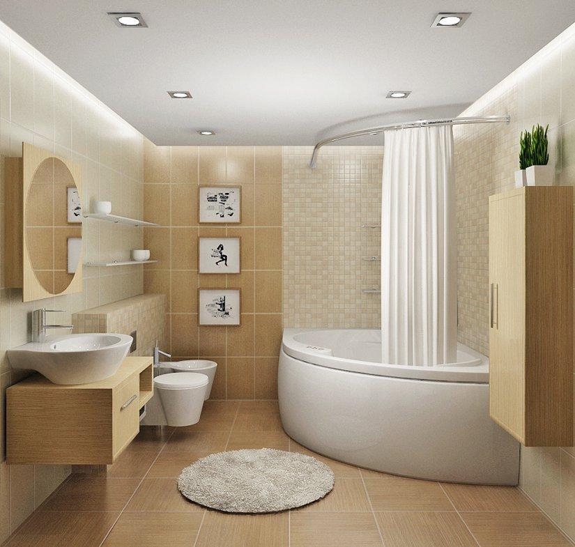 Дизайн ванной 6 кв
