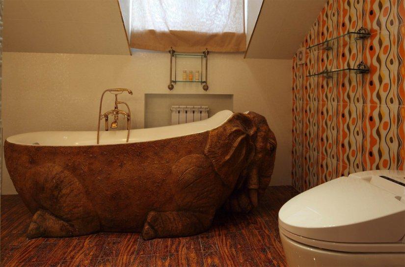яркий интерьер ванной 6 кв м фото
