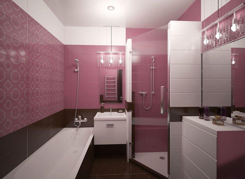 Badezimmer Pink