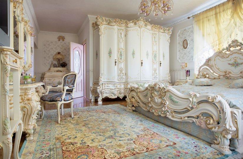 очень красивая спальная