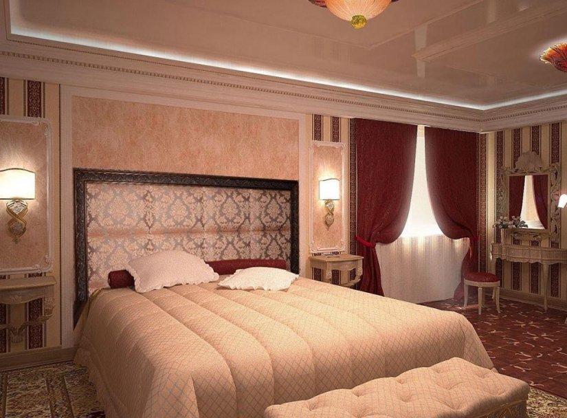 Красивый интерьер спальни фото в квартире