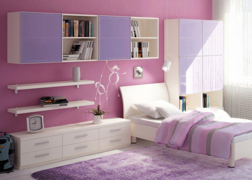 Спальня для подростка девочки