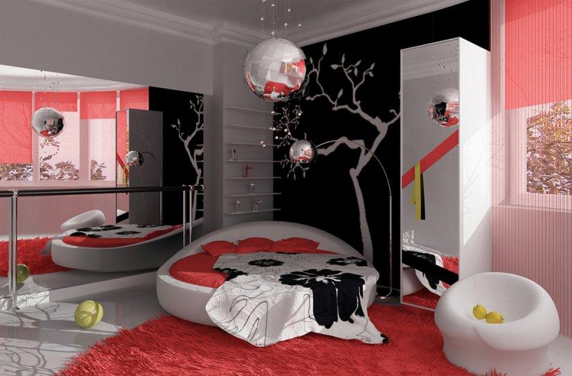 маленькая спальня для девочки фото